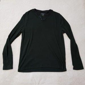 Alfani Shirts - Alfani Brand - Casual Long Sleeve Button Tee